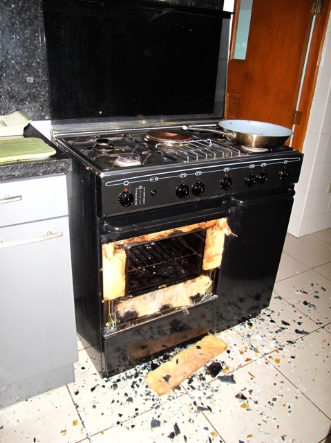 Jessicarulestheuniverse The Case Of The Oven Door Shrapnel