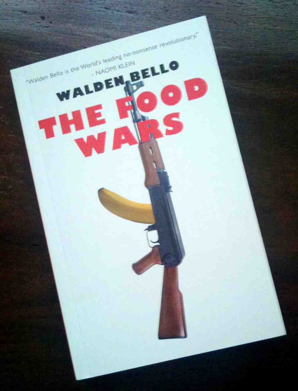 """the food wars by walden bello We will then turn to the current phenomena of global food price crises and """"land  grabs,""""  walden bello, the food wars 1-18 frances moore."""