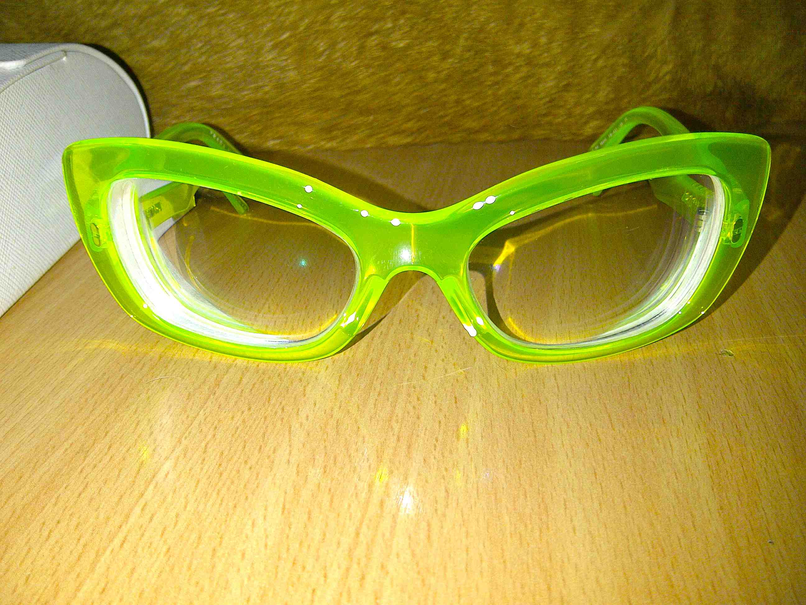 Bright Green Glasses Frames : JessicarulestheUniverse 2012 March