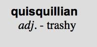 quisquillian