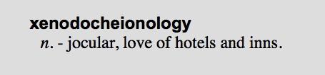 xenodocheionology