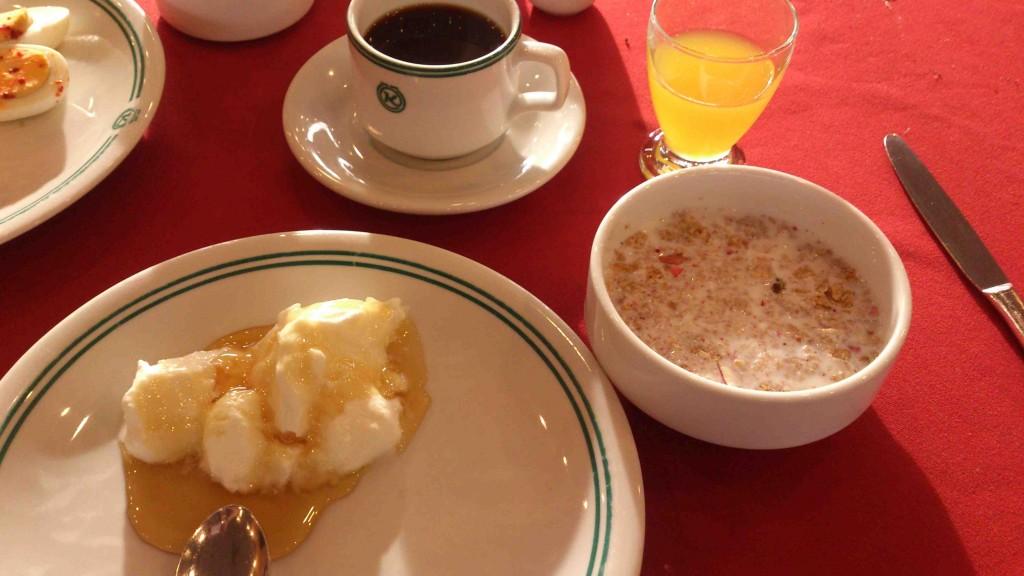 1. breakfast