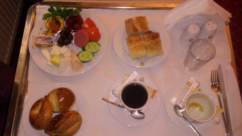 1. breakfast 8