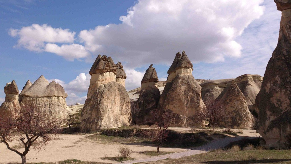 3. fairy chimneys