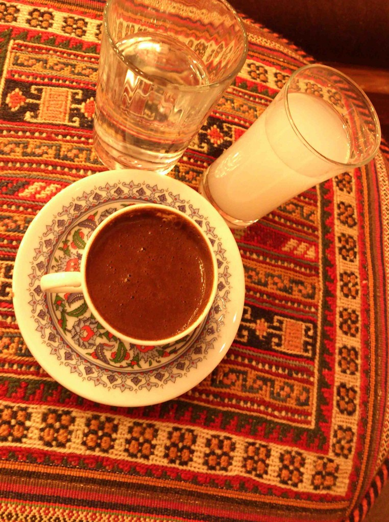 6. coffee and raki