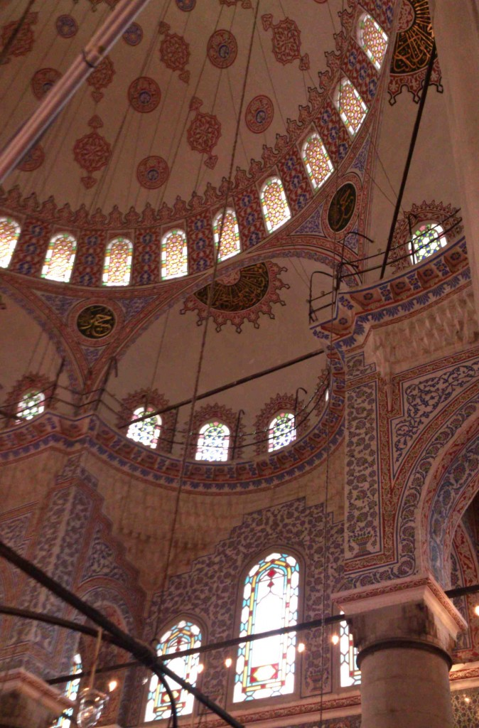 inside mosque