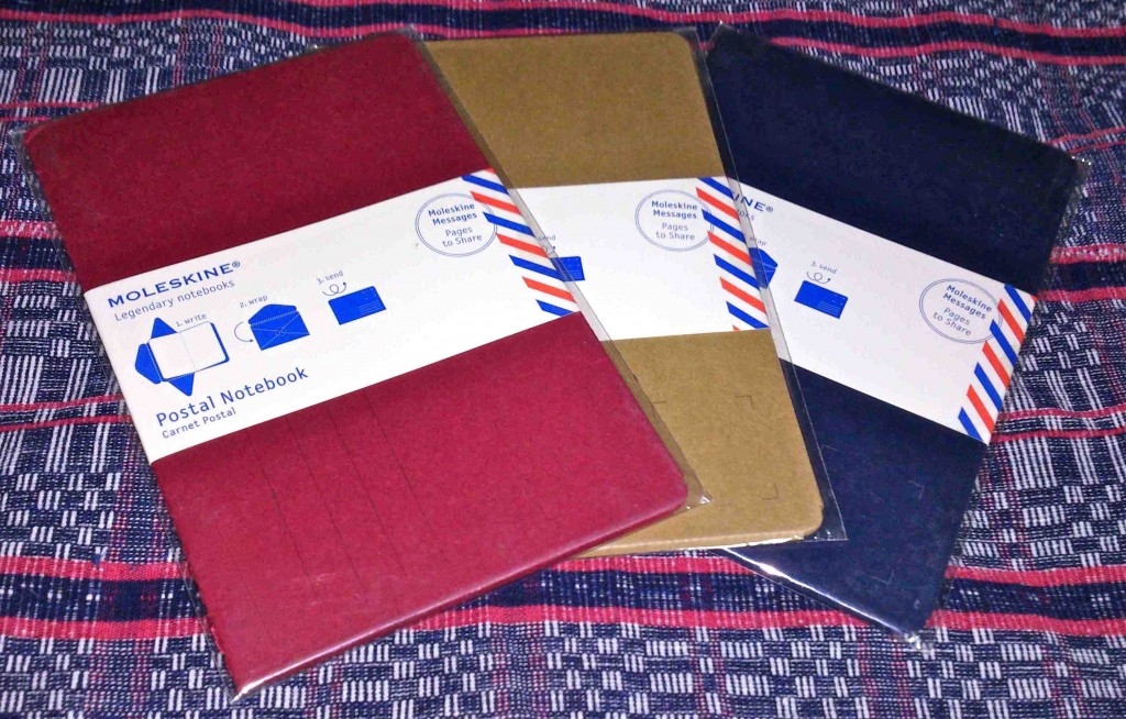 postal notebooks