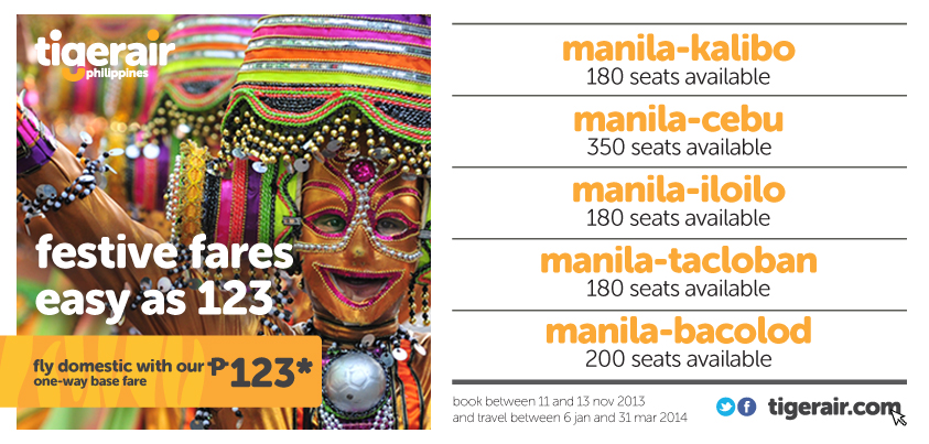 tigerair promo for nov11 to nov13