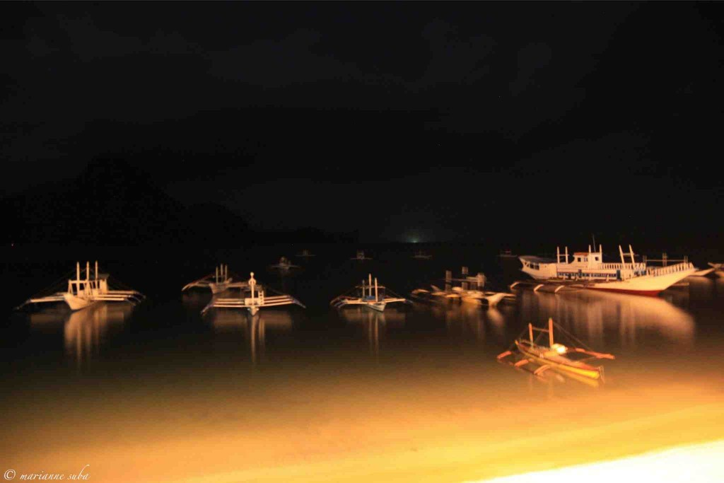 marianne_suba_bacuit_bay_at_night_el_nido