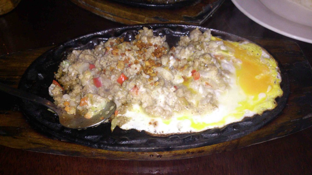 12. crocodile sisig