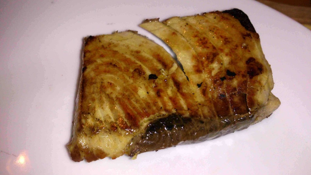 12. tuna steak