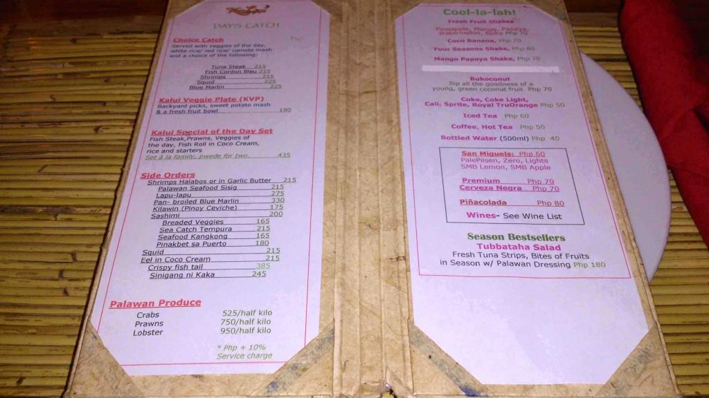 7. menu