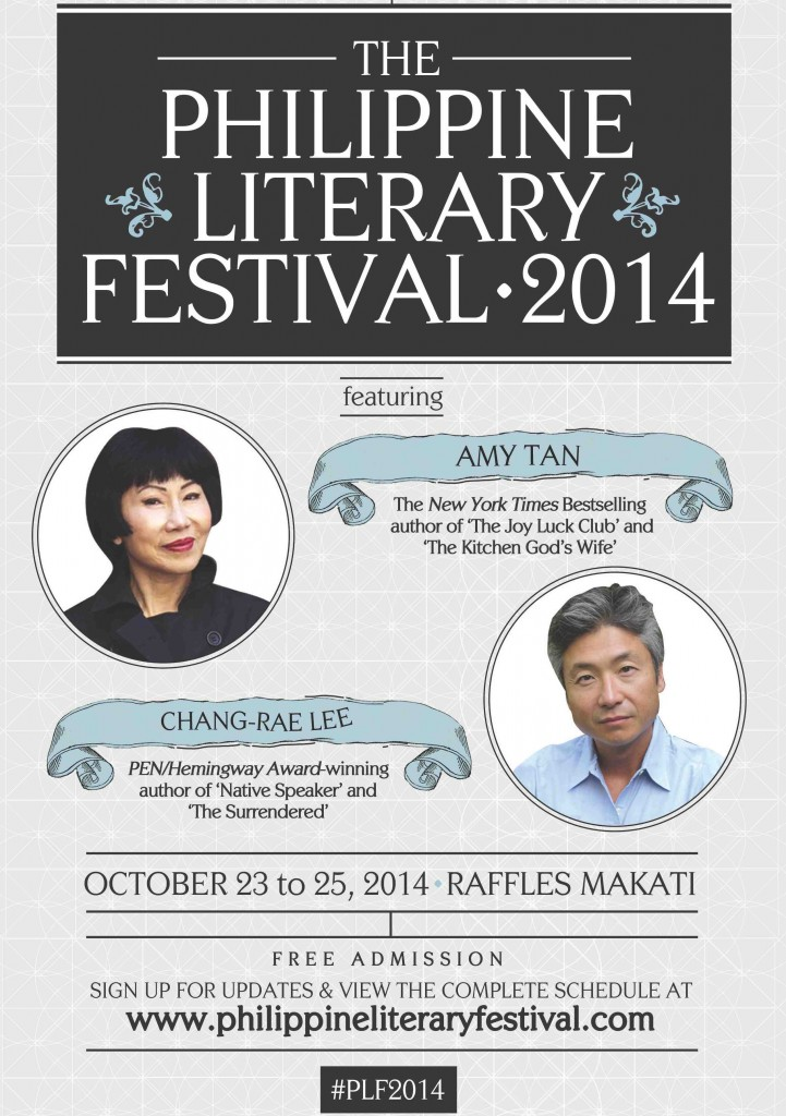 Print Ad - The Philippine Literary Festival 2014 (7x40)