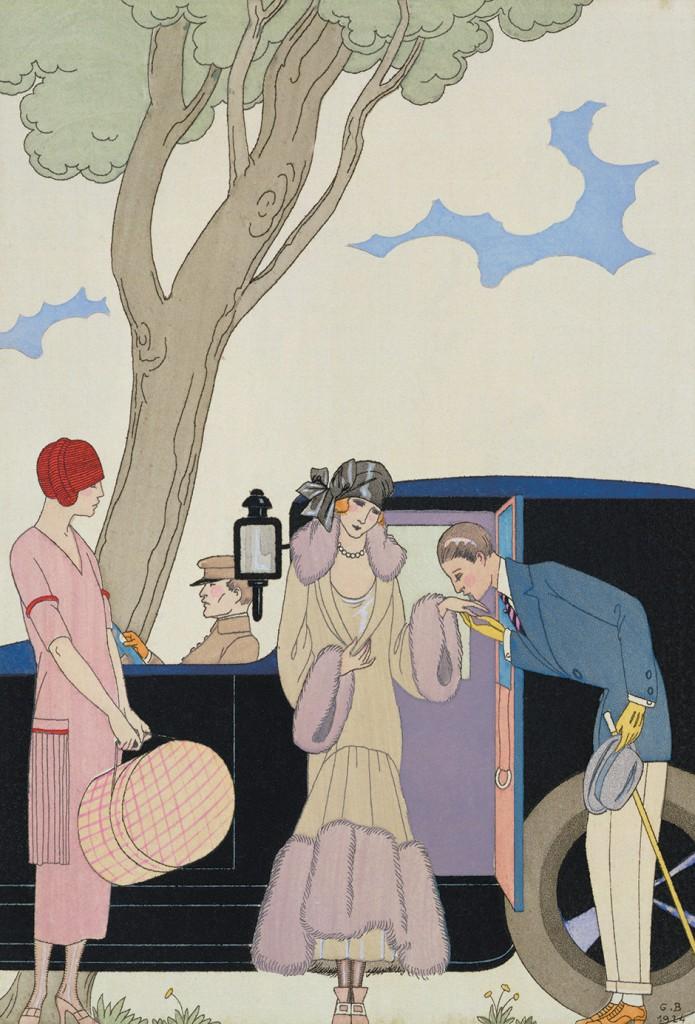 Georges Barbier: Envy, 1914